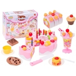 Delicious Cake Set With candle
