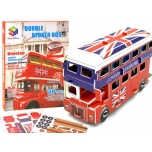 3D Puzzle London Bus, 43 pcs.