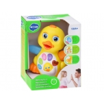Flapping Duck Educational Toddler Toy with action Light and Music