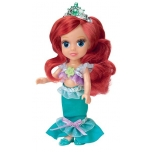 Nukk Disney Ariel Merineitsi 15cm (laulud vene keeles)