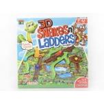 """3D настольная игра """"Змеи и Лестницы"""""""