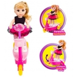 Doll with RC Scooter