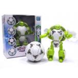 Робот трансформер-футбольный мяч