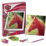 """Mosaics By Letters """"Horse"""""""