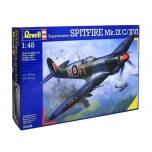 Модель пластмассовая  для склеивания Revell самолет  Spitfire MK.IX C/XVI  1:48