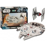 Liimitav plastmassist mudel Revell Star Wars Jakku Combat Set