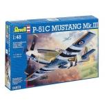 Liimitav plastmassist mudel Revell  Mustang MK.III 1:48