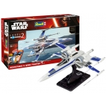 Модель пластмассовая  для склеивания Revell  Star Wars X-WING 1:50