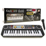 Electronic Keyboard Piano Organ with microphone,39 keys