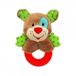 Plush Rattle toy-Dog