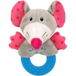 Plush Rattle toy-Mouse