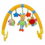 Pehme Kaar vankrile mänguasjadega Kaelkirjak