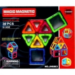 Magnetic Blocks, 30 pcs