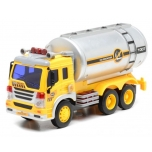 Gasoline tanker with sound and light