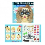 Disaineri plokk Fashion Designer Make Up