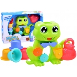 Bath Toy Frog with Cups