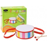 Colourful Toy Drum with sticks