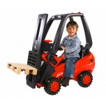 BIG tõukeauto tõstuk Linde Forklift punane | 800056580