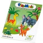 """PlayMais õpetusraamat """"Loomad"""""""