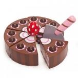 Šokolaaditort Puidust Honeybake