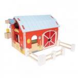 Красный Амбар Игровой набор Деревянный Фермерское поместье
