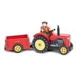 Puidust Berdi traktor