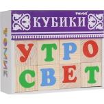 """Деревянные кубики Томик """"Алфавит"""" 12штук"""