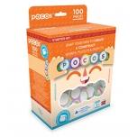 POCOS, Игровой набор, 100 деталей с латинскими буквами