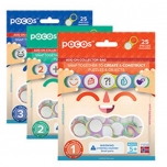 POCOS, 25 pcs, Add on collector bag, Numbers