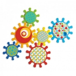 "Bath Toy""Spinning Gears"" 6pcs"