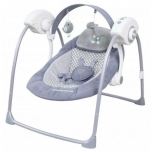 Baby swing  with music- grey
