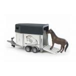 Hobuse treiler 1 hobusega / BRUDER