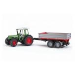 Fendt 209S traktor järelhaagisega