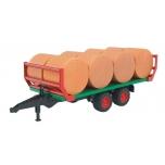 Прицеп для перевозки тюков Bruder 02220