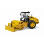 Bruder 02450 - Cat Caterpillar Vibratory Soil Compactor with Levelling Blade