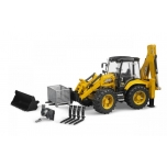 JCB 5cx Eco Backhoe Loader BRUDER 02454