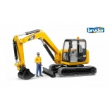 Bruder 02466 CAT Mini Excavator