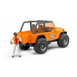 Bruder 02542 Jeep Cross Country Racing Racer