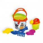 Комплект игрушек для песочницы с рисунком крота