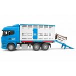 Bruder 03549 Scania для перевозки животных
