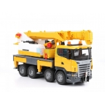 Bruder Toys Scania R-Series Liebherr Crane with Lights and Sound | 03570