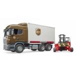 Scania UPS tõstukiga