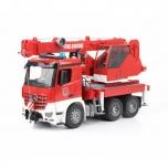 Bruder Большая пожарная машина с краном МВ Arocs М1:16 (03675)