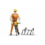 Bruder 60020 Construction Worker with Accessories