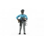 Inimfiguur, meespolitseinik(tume),politsei lisadega