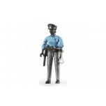 Inimfiguur, naispolitseinik(tume)politsei lisadega