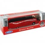 Металлический автобус  Neoplan Starliner 1:64 pull back - Welly