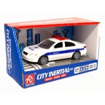Policei Car with lights and sound 15,5cm
