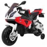 Электромотоцикл BMW S1000 Красный 12V