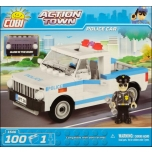 Police car 100 pcs COBI klotsid Action Town series